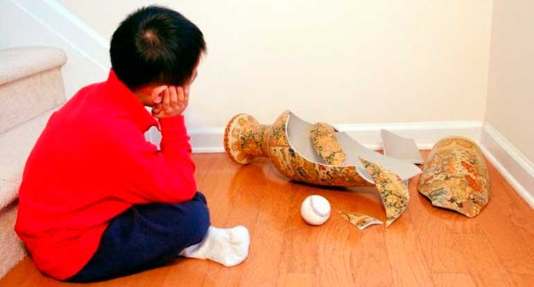 rebenok razbil vazu - Ответственность за вред, причиненный несовершеннолетним